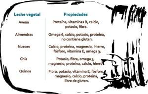 Leche vegetaal